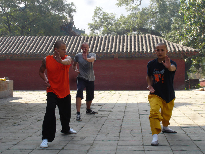 Training im Shaolin Tempel
